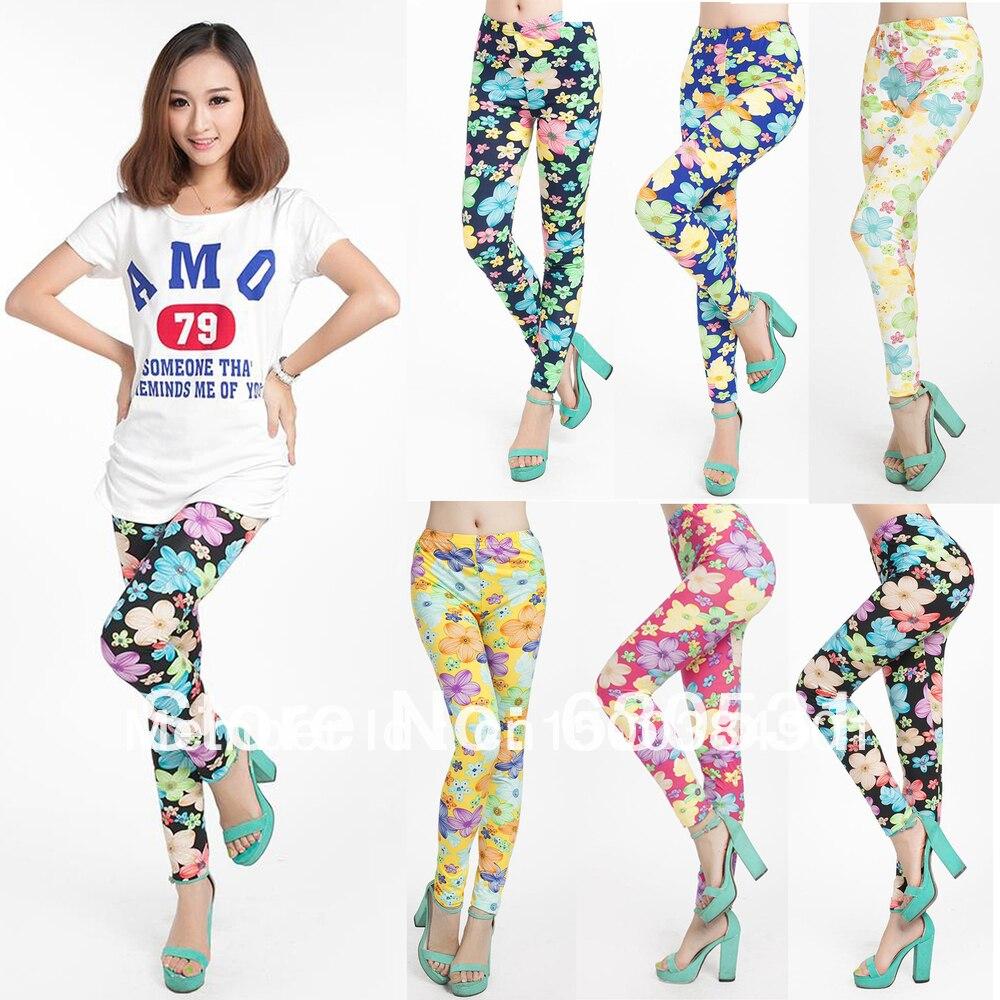Girls Patterned Leggings Interesting Decorating Design