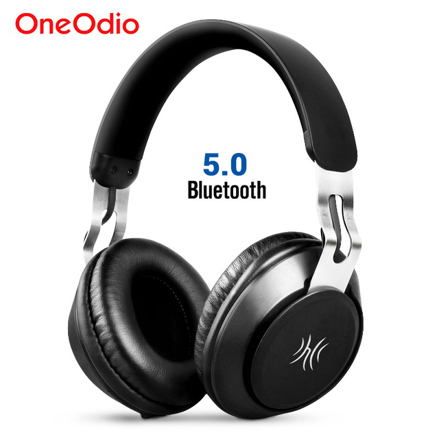 Oneodio Trên Tai Tai Nghe Không Dây Tai Nghe Bluetooth 5.0 Thể Thao Tai Nghe Stereo Bluetooth Tai Nghe Có Mic Cho iPhone Xiaomi