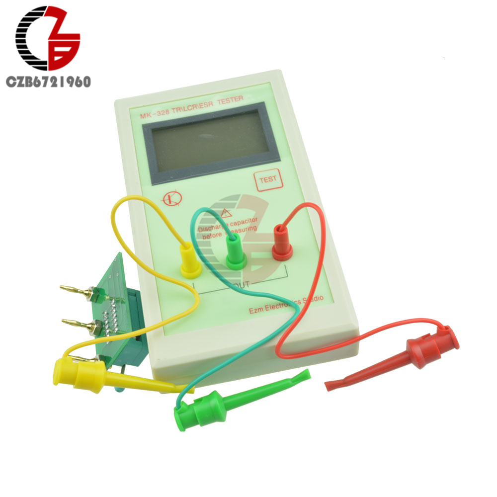 1pcs LCD display MK-328 TR for LCR ESR Tester Transistor Inductance Capacitance Resistance ESR Meter dy294 lcd display digital transistor dc parameter tester semiconductor tester semiconductor testers meter 1pcs