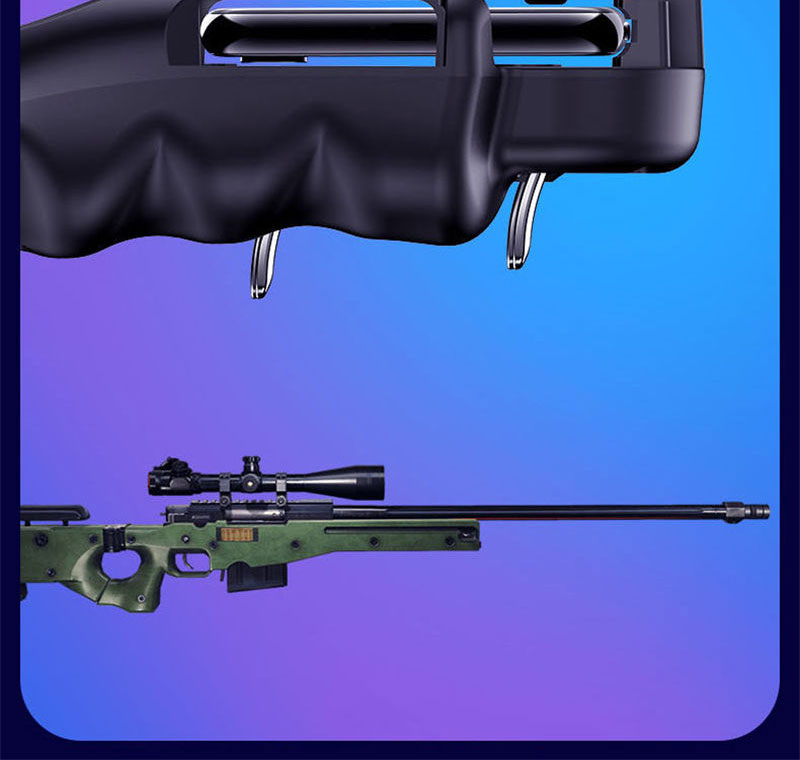 Controlador PUBG gatillo de juego móvil 10