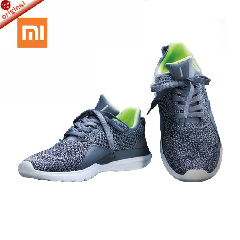 xiaomi 2017 Original FreeTie Xiaomi Smart <font><b>Bluetooth</b></font> 4.0 English APP Comfortable Upper And Durable Sole Running Sneakers <font><b>Shoes</b></font>