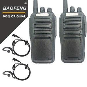 2PCS Baofeng UV-6D Walkie Talkie Long Range Two way Radio 400-480MHz UHF Single Band Handheld Radio Transceiver Interphone