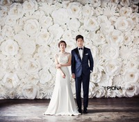 80PCS SET FULL WALL Deco Cardboard Giant Paper Flowers For Wedding Backdrops Background Decorations Windows Display