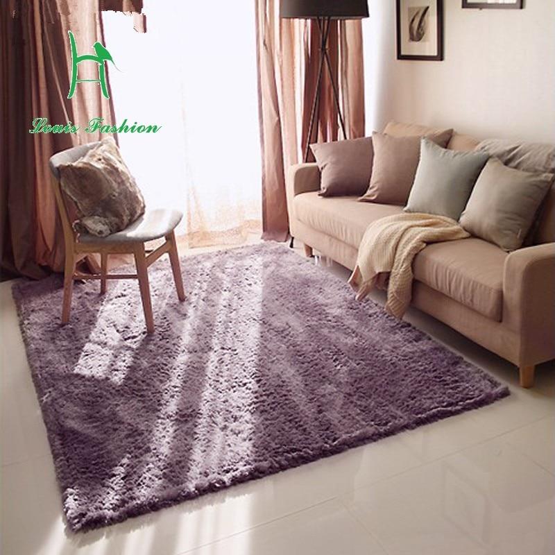 Carpet beautiful velvet carpet can be washed plush living ...