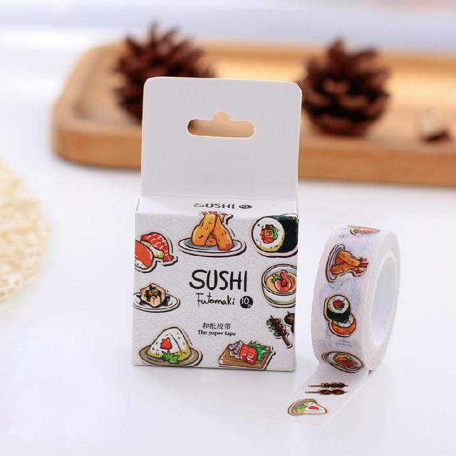 Yummy Sushi Washi Tape