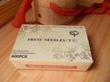 Xinling einweg ohr massage nadeln sterile einbettung akupunktur nadeln daumen tack nadel 600 stücke