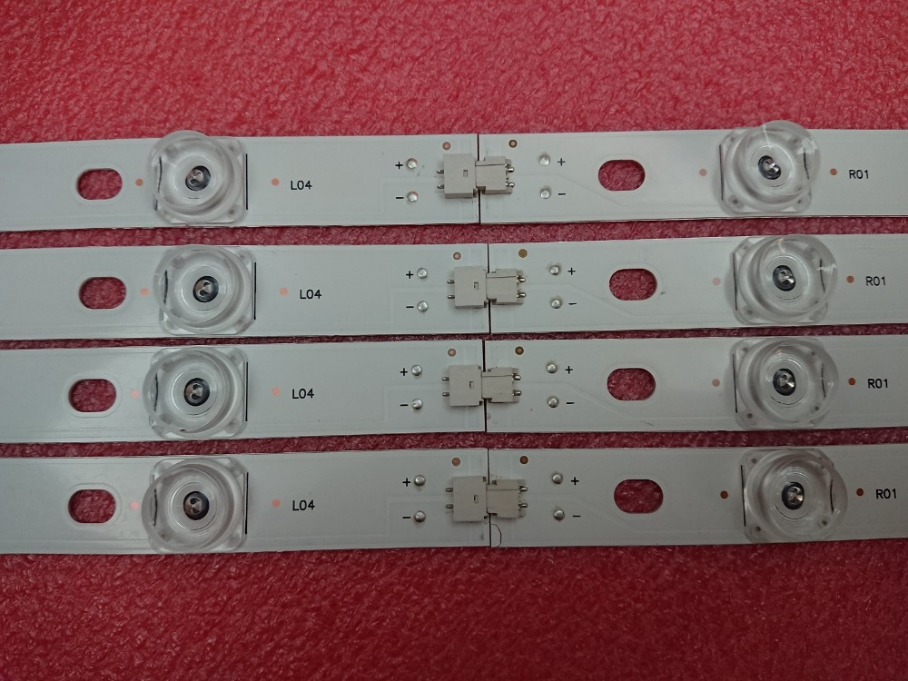 New 5set=40 PCS LED strip Replacement for LG LC420DUE 42LB3910 INNOTEK DRT 3.0 42 inch A B 6916L-1710A 1710B 1956E 1957A 1956B