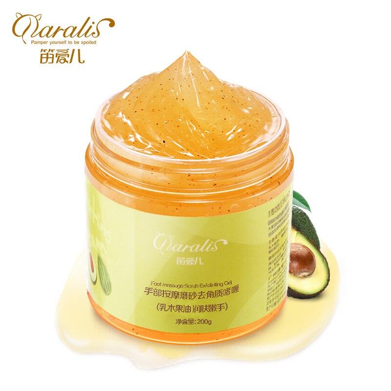Daralis Hand Massage Exfoliating Scrub Cream Hand Care Exfoliating Dead Skin Calluses Moisturizing Whitening Nourishing Beauty