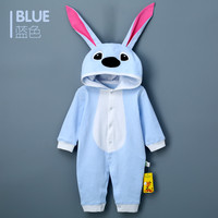 Toddlers Rompers Clothes Cotton Rabbit Ears Hooded Suits Infant Jumpsuit Outwear Baby Boys Girls Jumpsuit Clothing