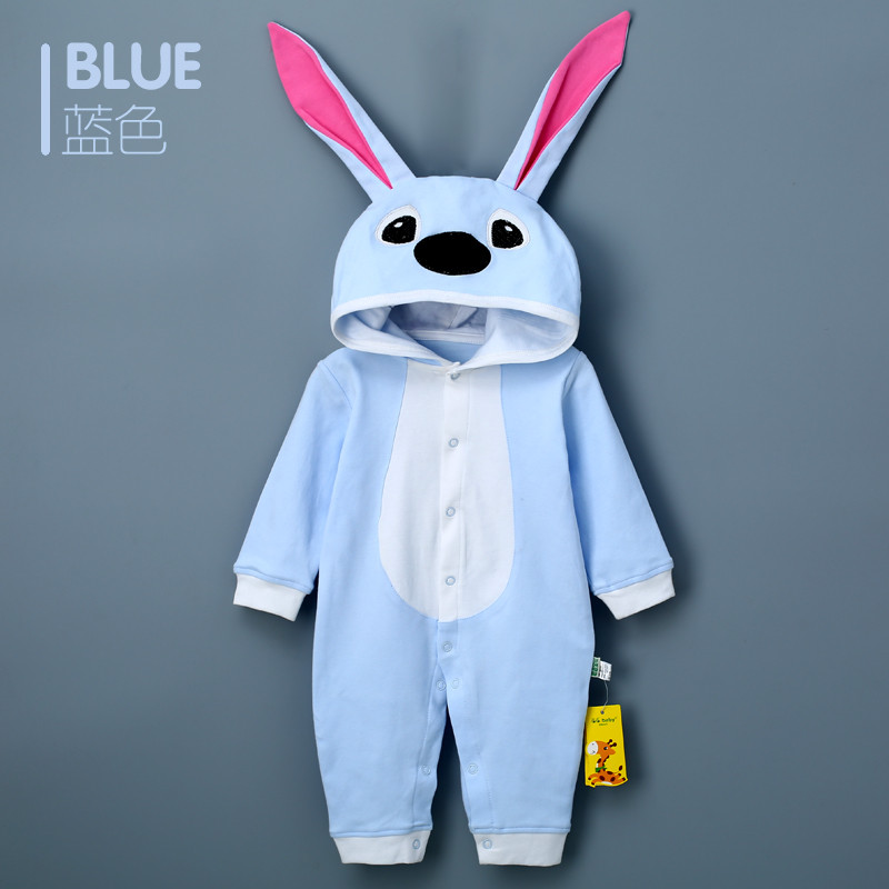 2018 Baby Toddlers Rompers Clothes Cotton Rabbit Infant Jumpsuit Bunny Shirt Outwear Baby Boys Girls Jumpsuits Clothing Costumes mother nest 3sets lot wholesale autumn toddle girl long sleeve baby clothing one piece boys baby pajamas infant clothes rompers