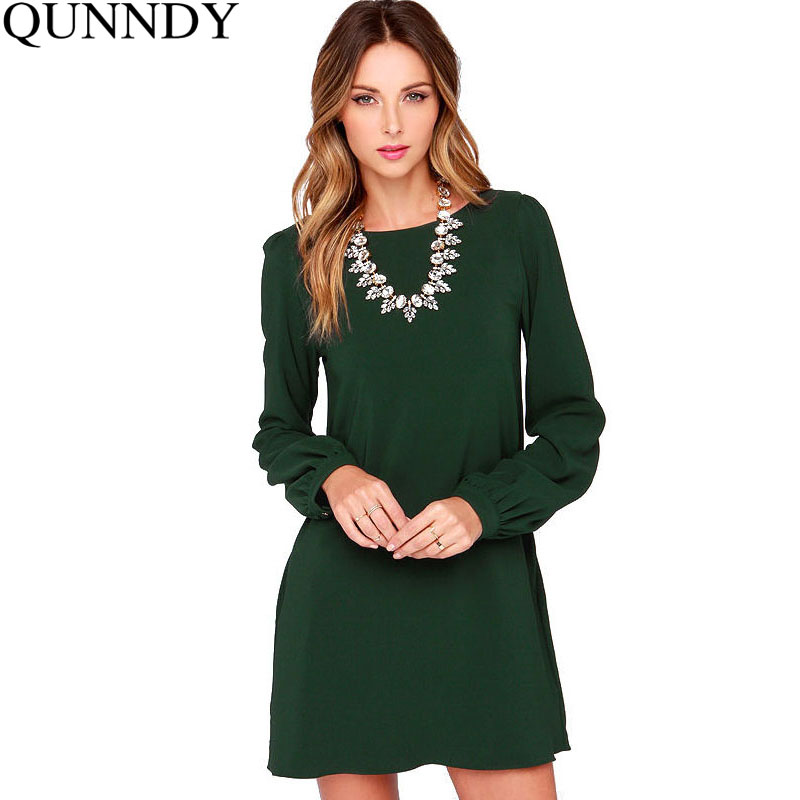 Stock up on gorgeous dresses for your work wardrobe. Whether you are shopping for work, or a smart casual occasion, these long-sleeved dresses are perfect for any occasion. Autumn and winter call for dresses with a little more coverage, and these beautiful dresses will help you avoid the chill with 3/4 length sleeves and longer sleeves.