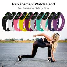 Silicone Watch Band Strap Replacement Sport Wrist For Samsung Galaxy Fit-e/R375 New