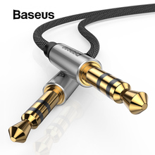 Baseus Aux Audio Cable 3.5mm Jack Male to Male Audio Cable For Samsung