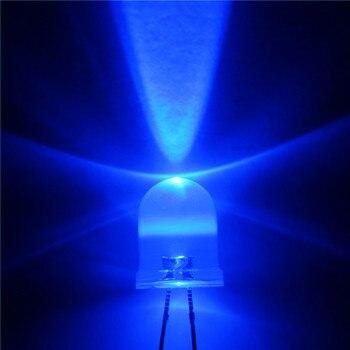 1000pcs  LED 10mm LED Blue DIODE 10MM Round top  Emitting Diodes Ultra Bright Super bright  LEDS Lamp Light Bulb  DIY KIT