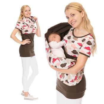 3c8c72564 Maternidad Lactancia Materna con capucha Top imprimir madres T camisa  embarazada sudaderas con capucha lactancia ropa para mujeres
