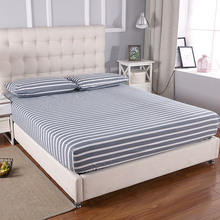 Grounded earthing Fitted sheet  standard Twin Full Queen King with 2 pillow cases EFM Protection Anti-static bed