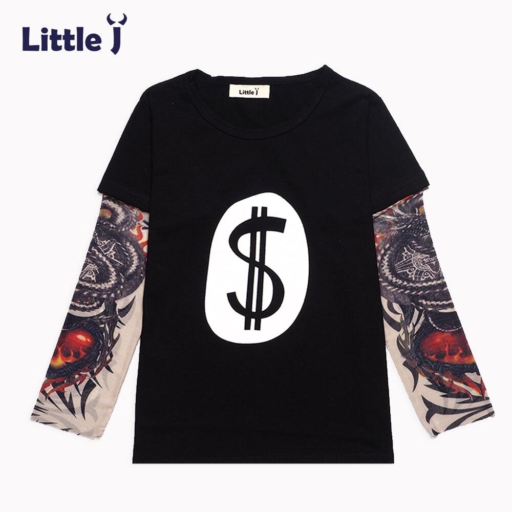 Little-J-Spring-Cartoon-Hip-Hop-Baby-Boys-T-Shirt-Thorns-Tattoo-Long-Sleeve-Girls-T-Shirts-Children-Clothes-Tee-Tops-Sweatshirts-1