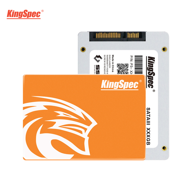 KingSpec SSD 2.5 Inch SATAIII 128GB Solid State Hard Drive HD SSD 256GB Internal Hard Disk HDD for Desktops Notebook Laptop PC