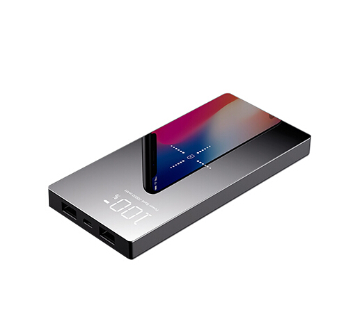Qi Wireless Charger 20000mAh Dual USB Power Bank Battery Charger For iPhone X XS Samsung S9 S8Qi Wireless Charger 20000mAh Dual USB Power Bank Battery Charger For iPhone X XS Samsung S9 S8