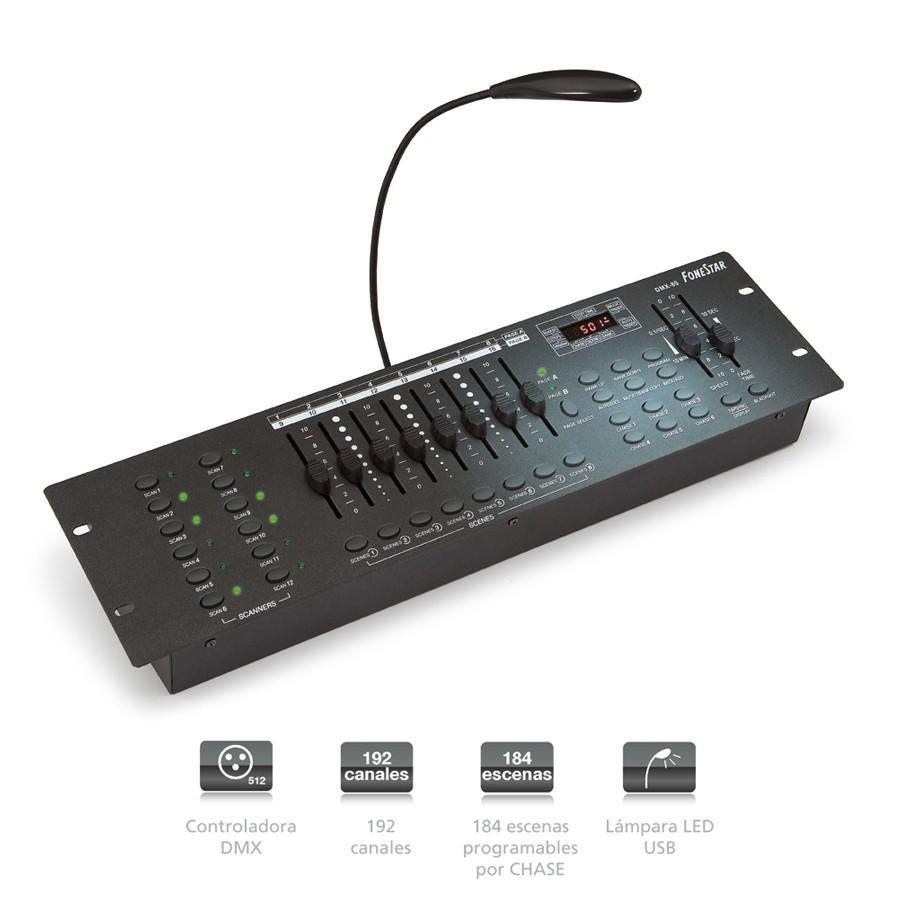 Fonestar Table Lighting's DMX DMX-80