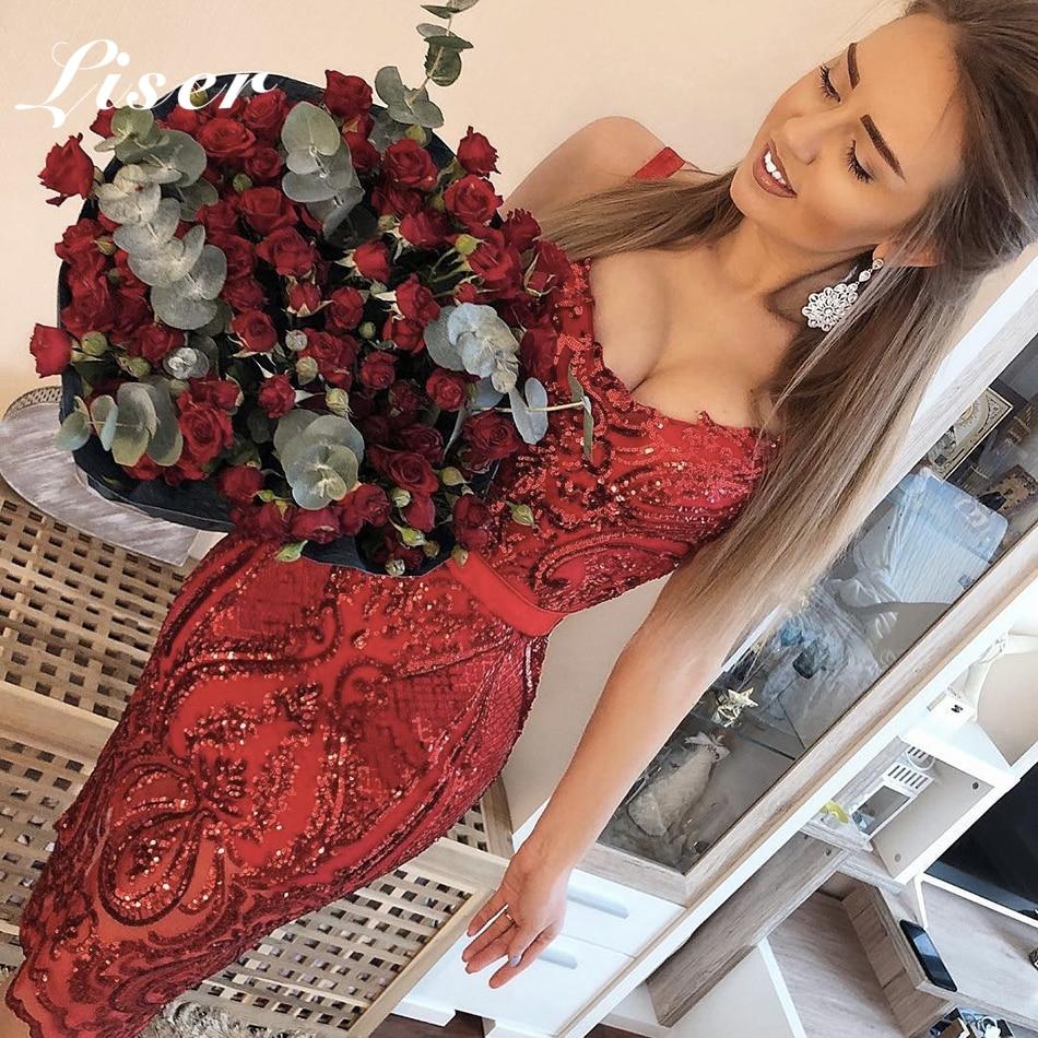 Liser À Bretelles Femme Sexy 2019 En De Robe D'été Rouges Partie Lacée Paillettes Nouvelle Soirée Moulante Pour Rouge Gros Chic Robes qxrCq4p0