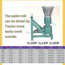 KL260P PTO гранулятор кормов/машина для двересного гранулирования, управляемая трактором