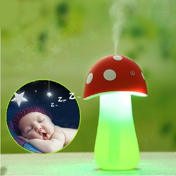 Portable usb mini mist maker mushroom lamp air humidifier purifier for baby room office car.jpg 250x250
