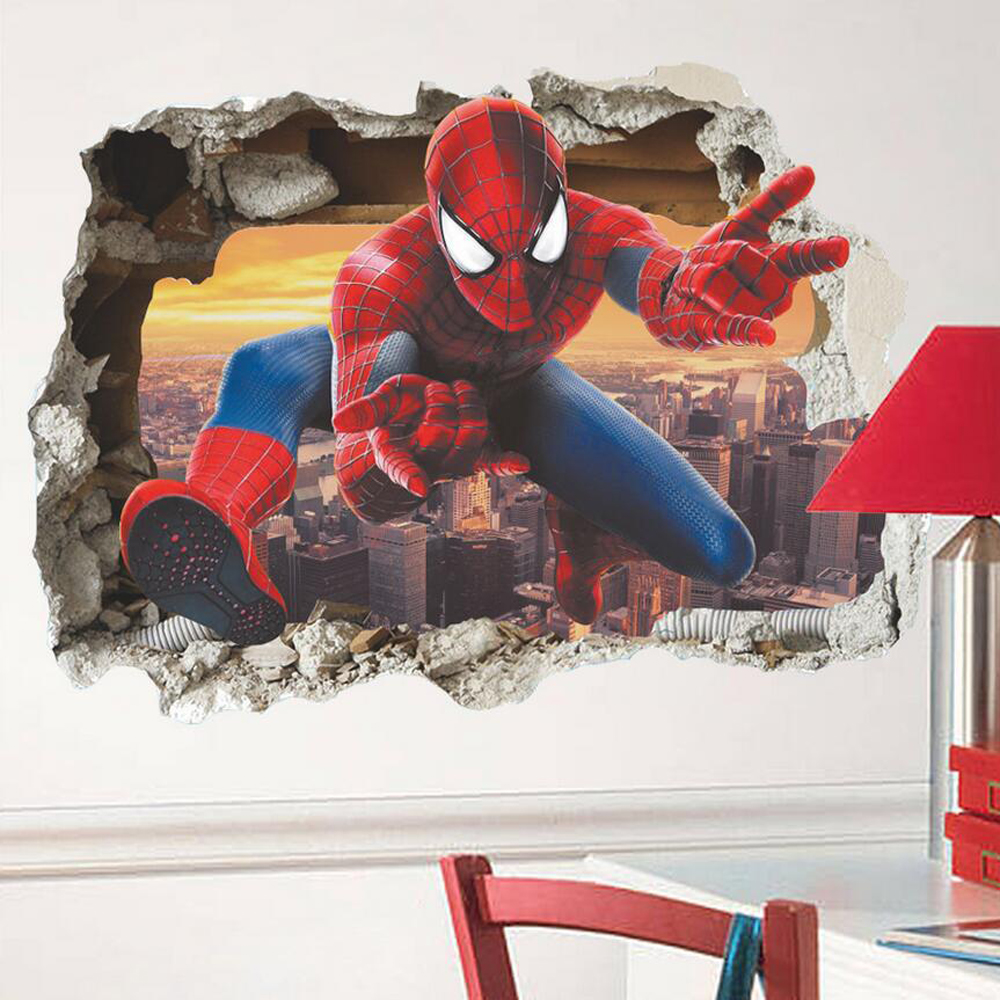 Spiderman Wall Decor compare prices on spiderman wall decor- online shopping/buy low