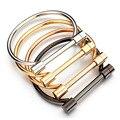 New Fashion Shackle Screw Bracelet Never Fade 4 Colors Stainless Steel Bangles Bracelets For Women Love Bracelet Free Shipping