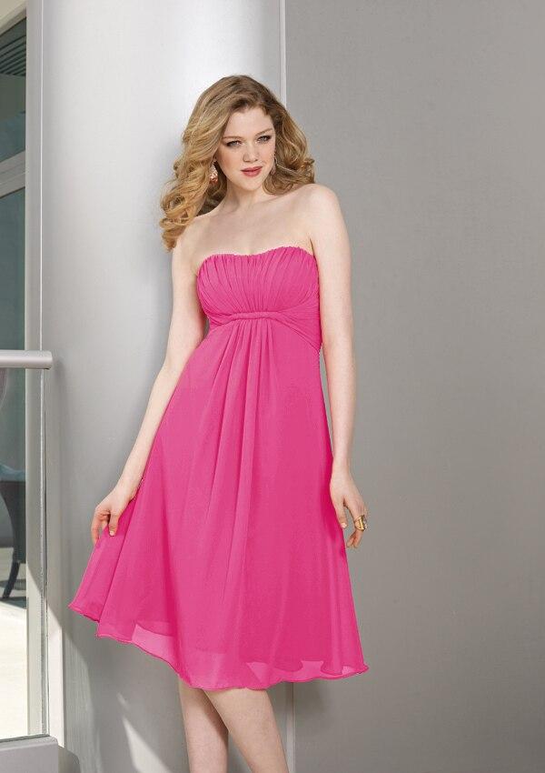 Encantador Vestido De La Dama De Honor Para La Mujer Embarazada ...