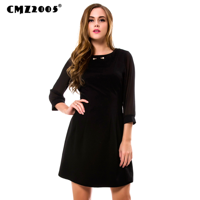 Hot Sale New Women Casual  Fashion Autumn Solid  Knee-Length  O- Neck Dresses  with  Half  sleeve   71311
