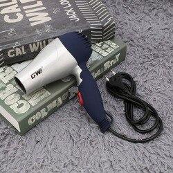 Mini portátil dobrável lidar com compacto 1500 w secador de cabelo secador vento quente baixo ruído longa vida para viagens ao ar livre