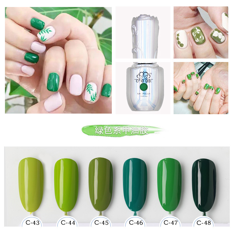 Formaldehyde free Nail Art Design Manicure 6 Colors 15Ml Soak Off ...