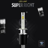 TINSIN LIGHTING h1 led headlamp 6000K 3000K 4300K Light bulbs for cars 40w 4800lm
