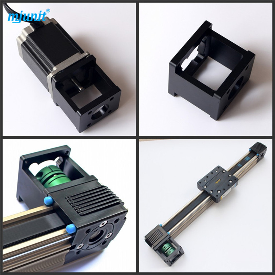 Toothed belt drive Motorized Stepper Motor,Precision Linear Application for Industry [joy] hakusan original stepper motor drive 4257 series drive maximum 64 aliquots voltage 15v 40 2pcs lot