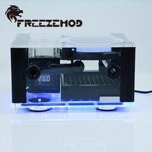 FREEZEMOD BOX-12YT внешнее водяное охлаждение интегрированная интеллектуальная коробка температурный дисплей RGB эффект