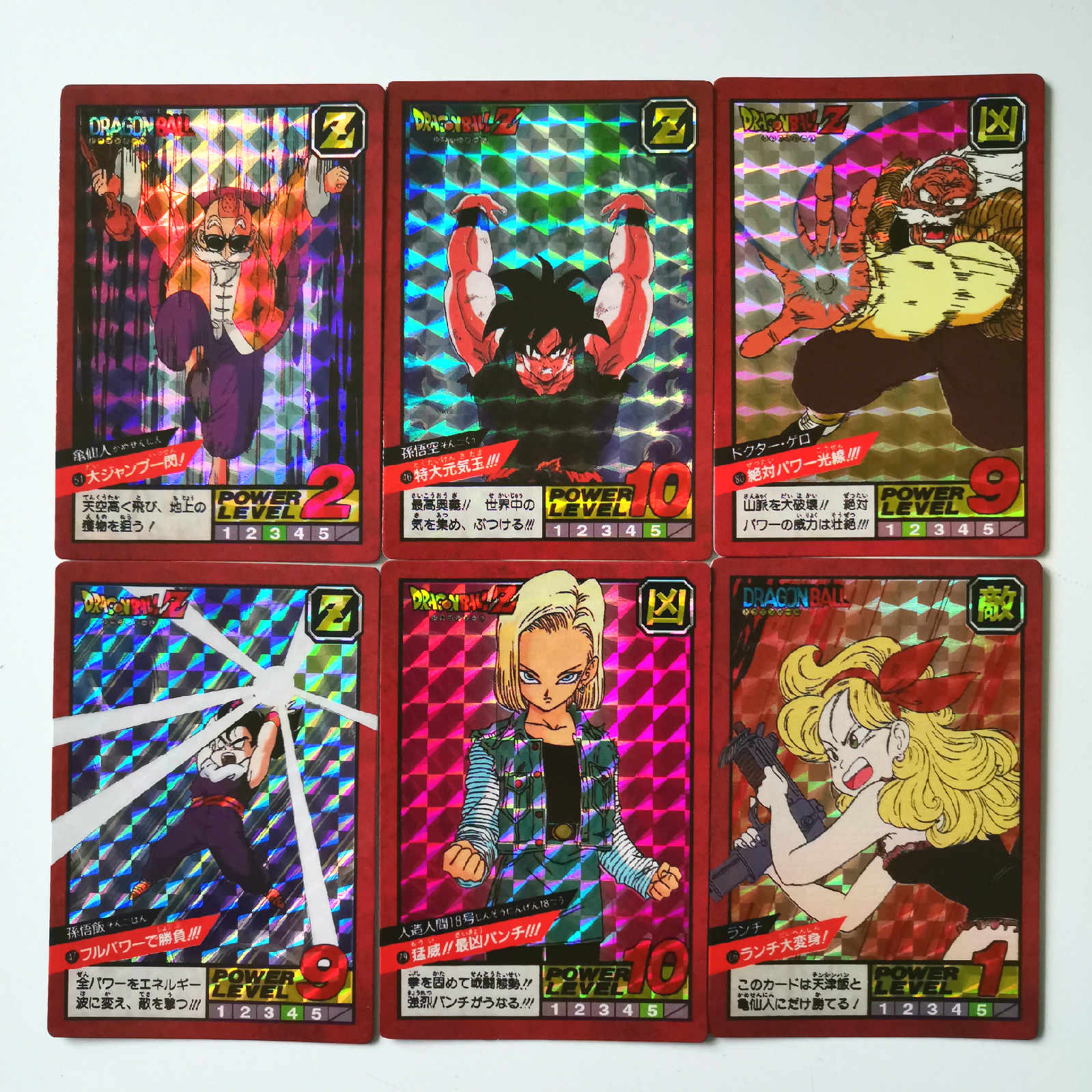 43pcs/set Super Dragon Ball Z Fighting 2 Reissue Heroes Battle Card Ultra Instinct Goku Vegeta Game Collection Cards