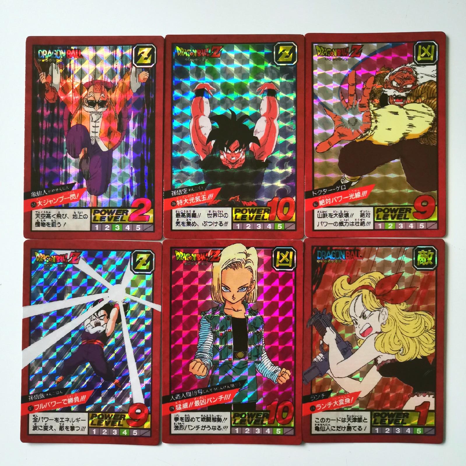 43pcs/set Super Dragon Ball Z Fighting 2 Reissue Heroes Battle Card Ultra Instinct Goku Vegeta Game Collection Cards