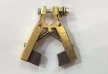 6*12*90(L)mm carbon Brush holder Scissors Double foot type for Motor power Tool цена