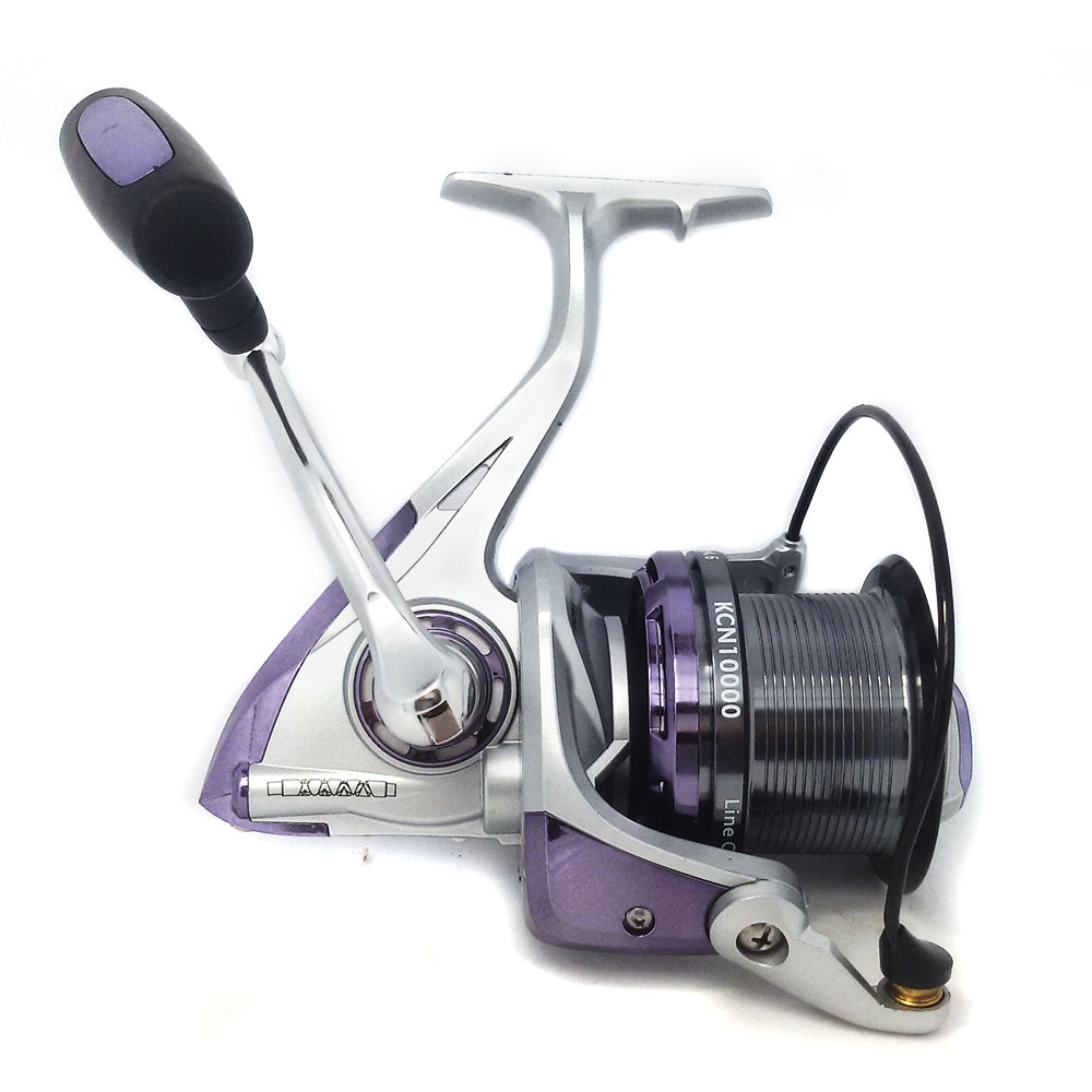 Hot Super Technology Fishing Reel 12+1BB  Bearing Balls KCN10000 Series Spinning Reel Boat Rock Fishing Wheel 10 1bb spinning fishing reel fishing tackle tool accessory super fast artificial bait sea fishing wheel dual bearing system