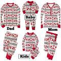 Familia Ropa A Juego Ropa Pijamas de La Familia de Padre E Hijo de Mamá Y Yo Traje Kids Pijamas Set Bebé Ropa de Dormir Ropa de La Familia