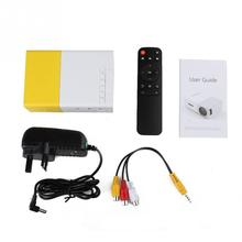 portable LED Projector Outdoor Cinema Theater Projector VGA/HDMI/USB/SD Input Mini Pocket Projector with Remote Control