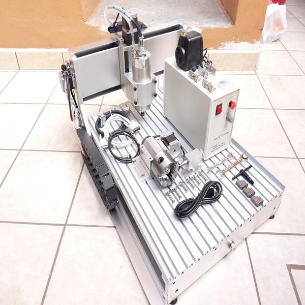 Hot Sale AMAN 3040 Desktop Milling Machine For Metal