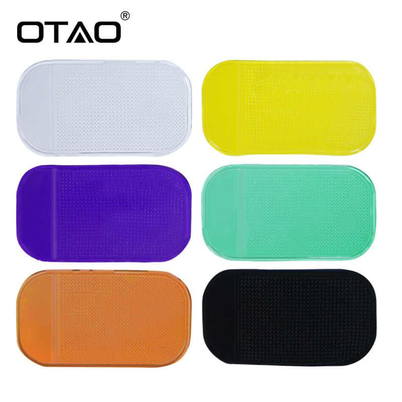 Soporte para el salpicadero de coche parabrisas almohadilla adhesiva soporte antideslizante para iPhone 5 6 Plus teléfono inteligente para Samsung electrónico dispositivo de pantalla