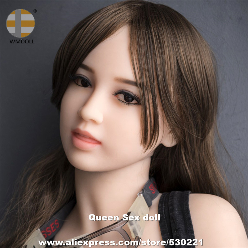 WMDOLL Top Quality Head For <font><b>Silicone</b></font> Real <font><b>Sex</b></font> <font><b>Dolls</b></font> Oral Love <font><b>Doll</b></font> Heads Can Fit For 140cm to <font><b>170cm</b></font> Full Size <font><b>Dolls</b></font> image