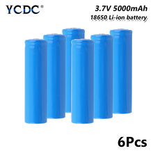 18650 Rechargeable Battery 3.7V 5000mAh For electronic cigarette battery power high discharge large current