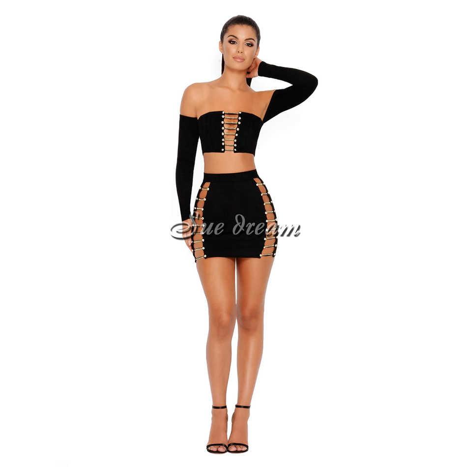 2018 новые осенние женские длинные рукава slash шеи бинты сексуальное обтягивающее платье выдалбливать вечеринка черный фиолетовые платья vestidos