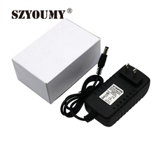 купить SZYOUMY 12V Power Supply For CCTV CAM Led Strip EU/US/UK/AU Adapter AC110-220V To DC12V 1A 2A 3A 4 Option Plug Transformer дешево