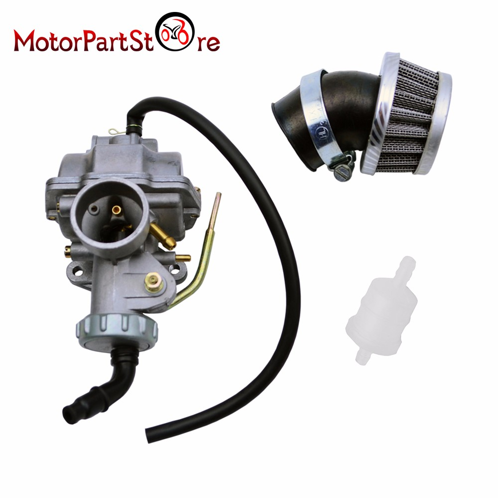 Motorcycle <font><b>Carburetor</b></font> Fuel Air Filter for Honda monkey C50 Z50 SS50 <font><b>50cc</b></font> Pit Dirt Bike ATV Motorcycle Supplies Carb Engine <font><b>Parts</b></font> image