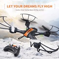 Mini rc drone jjrc h33 kvadrokopter 2.4g 4ch 6 axis gyro RC Quadcopter Modo Headless um retorno Com Flash Luzes VS H36